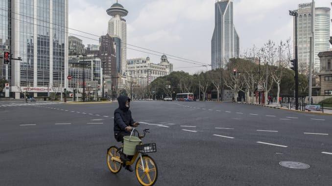 China's empty streets