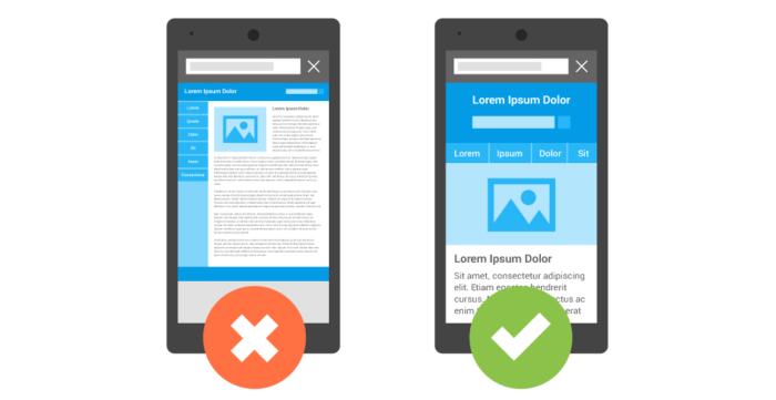 Google grading mobile presence
