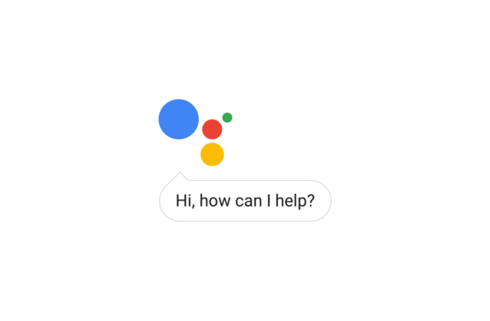 "Google chat bubble saying ""Hi, how can I help you?"""