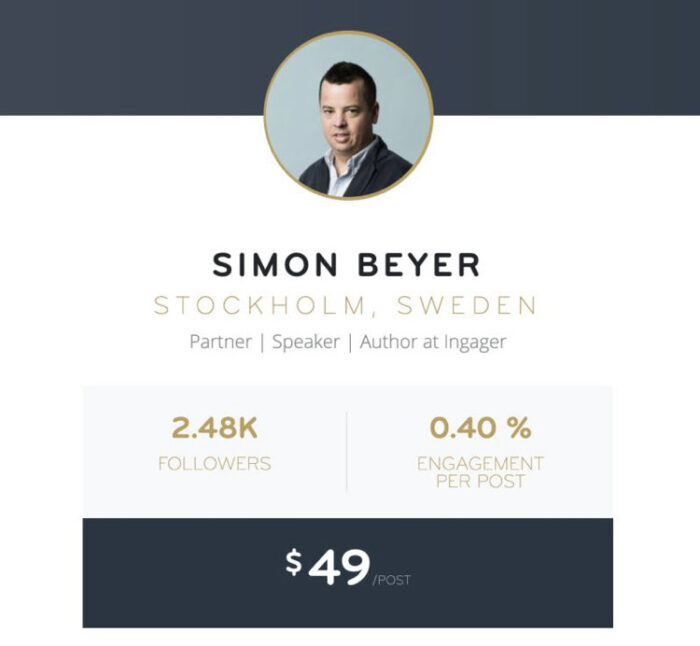 Linkalyze hittar influencers på LinkedIn