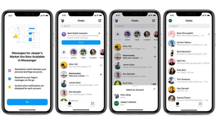 Messenger for businesses