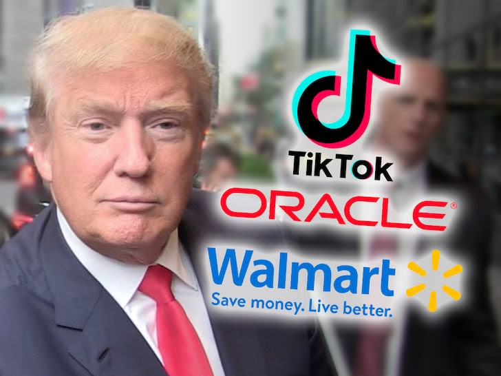 Donald Trump and TikTok, Oracle and Walmart
